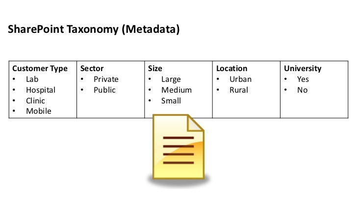 Taxonomy Content Types Metadata Oh My – Taxonomy Worksheet