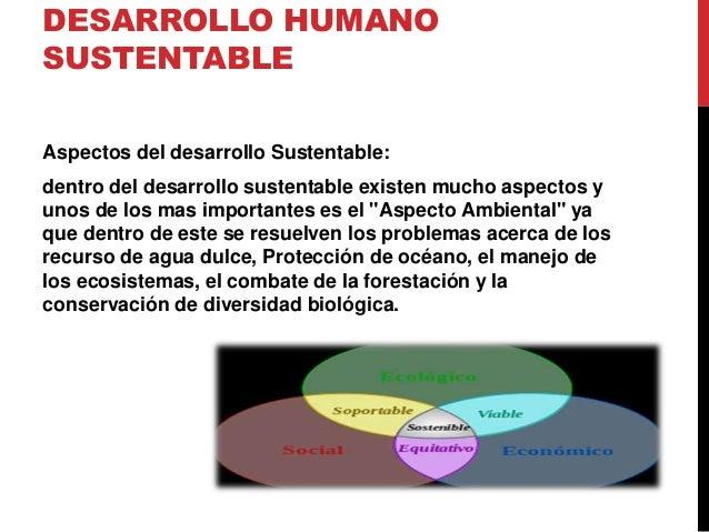 Ser Biopsicosocial- Desarrollo Humano sustentable Slide 3