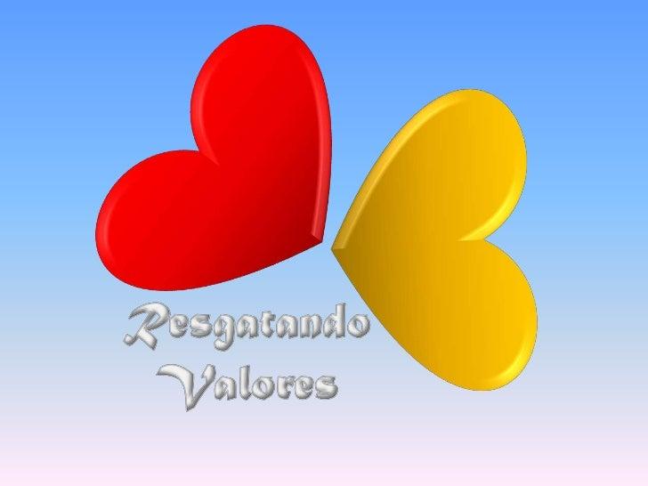 Resgatando Valores 2010