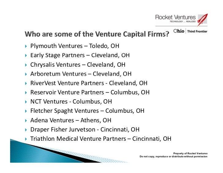 Angel and Venture Capital in Northwest Ohio