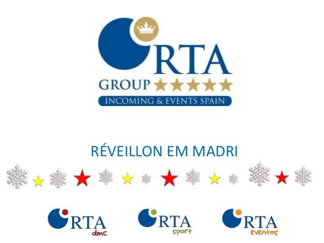 RÉVEILLON EM MADRI