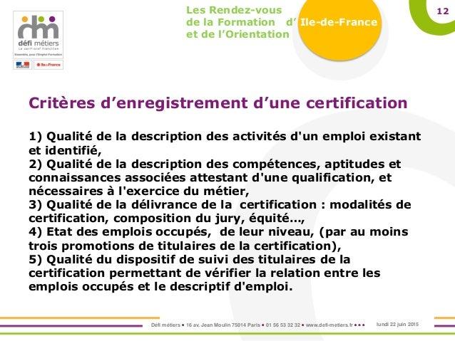 les modalités du recrutement dans une entreprise identifié 3ème Français