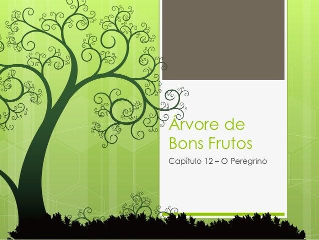 Árvore deBons FrutosCapítulo 12 – O Peregrino