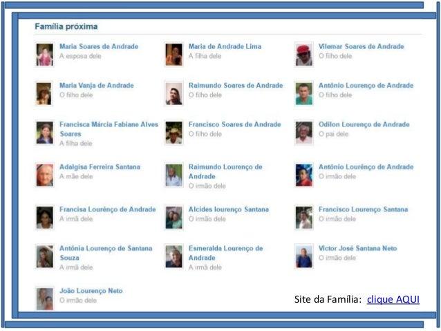 Família de José Lourenço de Andrade e Maria Soares de Andrade Site da Família: clique AQUI
