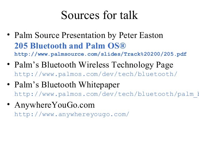 thesis on bluetooth technology