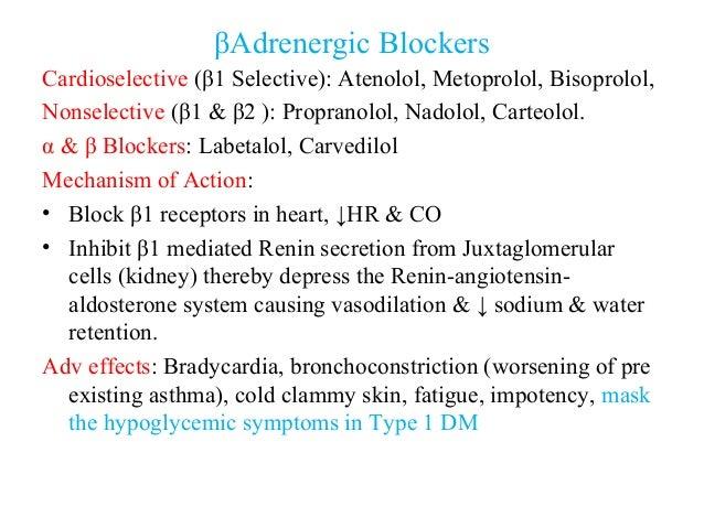 metoprolol mechanism of action pdf