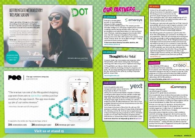 RetailWeek Buzz conference-programme
