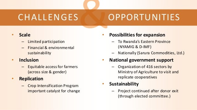 &CHALLENGES • Scale – Limited participation – Financial & environmental sustainability • Inclusion – Equitable access for ...