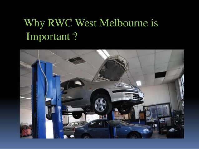 Why RWC West Melbourne is Important ?