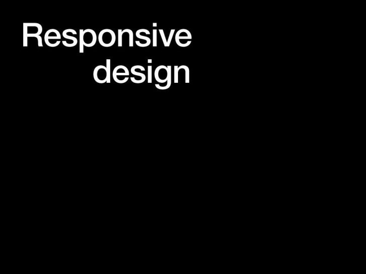 Responsive Webdesign For Non-Geeks