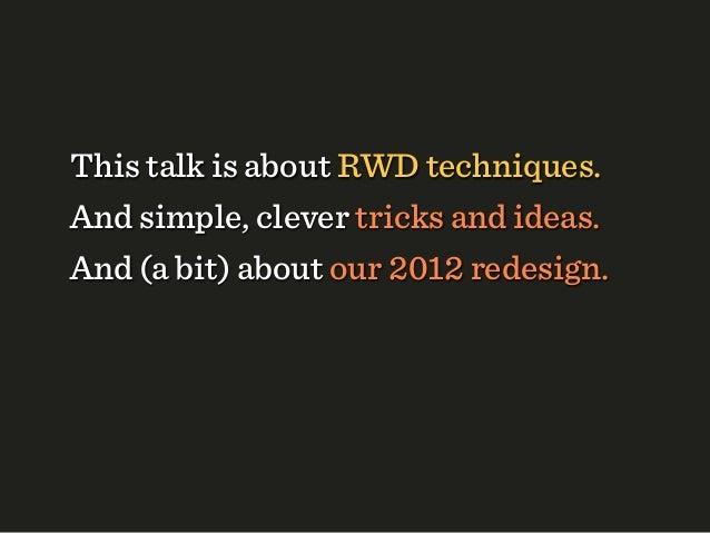 Responsive WebDesign (Extended)