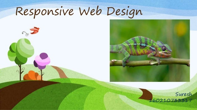 Responsive Web Design Suresh 160210733317