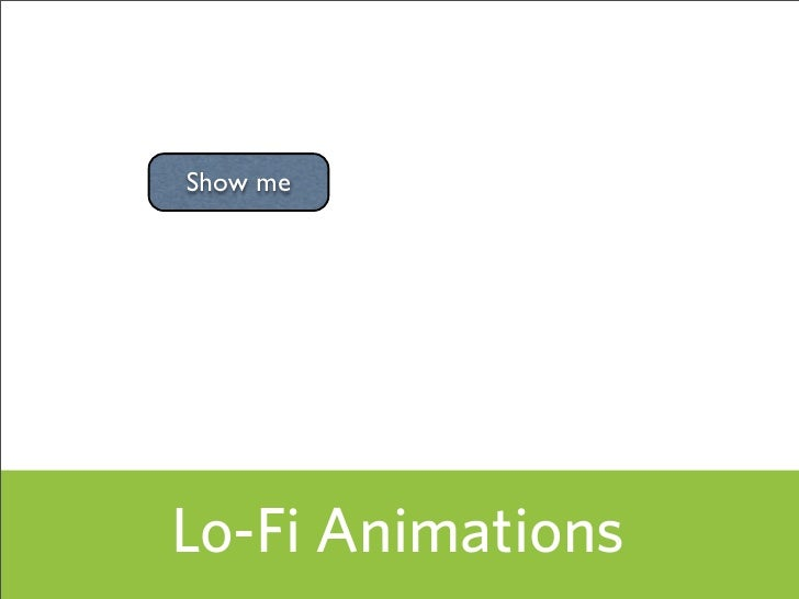 Show me     Lo-Fi Animations