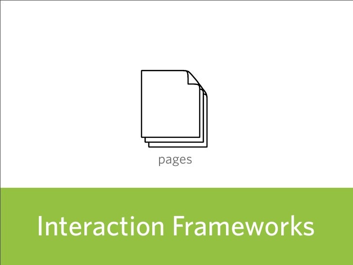 pages     Interaction Frameworks                          56