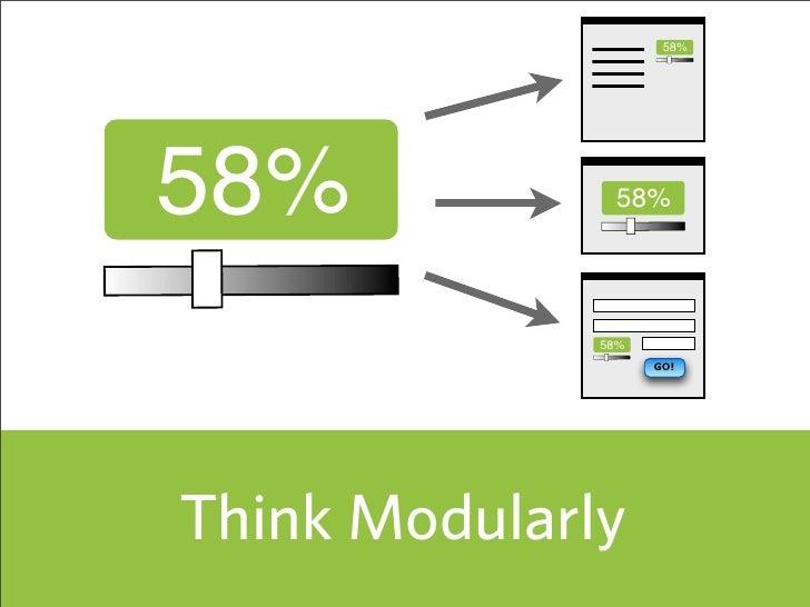 58%     58%            58%                   58%                     GO!     Think Modularly                            57