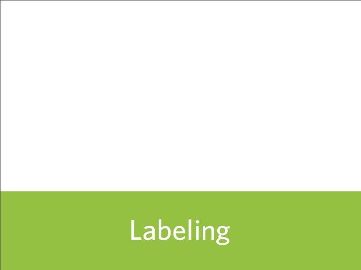 Labeling            61