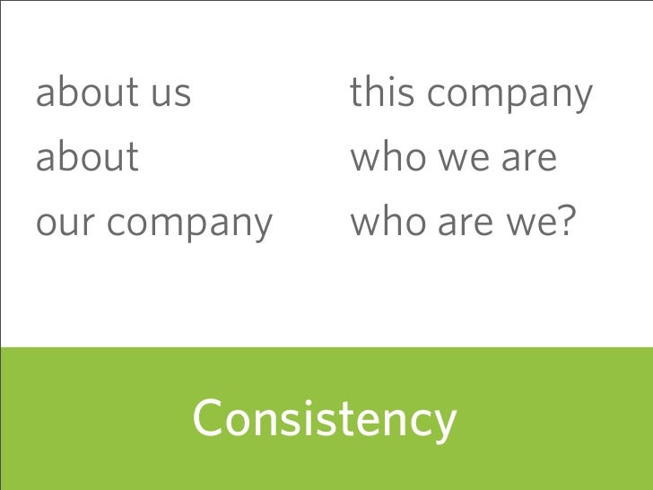 about us      this company about         who we are our company   who are we?           Consistency                       ...