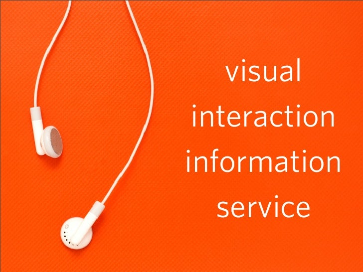 visual  interaction information    service                6