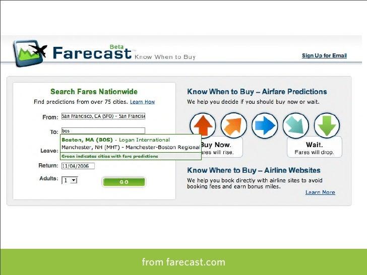 from farecast.com   71