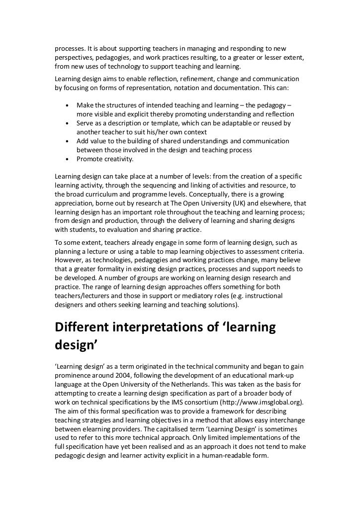 processes. It is about supporting teachers in managing and responding to newperspectives, pedagogies, and work practices r...