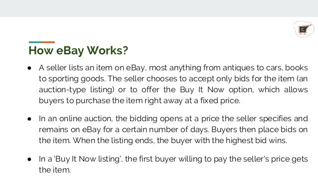 Step By Step Guide To Start Selling On Ebay