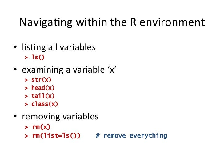 R Workshop For Beginners