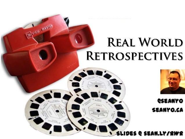 @seanyo Seanyo.ca  Slides @ sean.ly/RWR