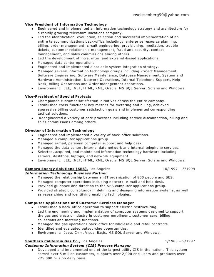 Fantastic Energy Utility Resume Vignette - Administrative Officer ...