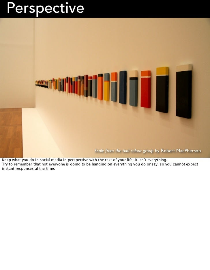 Perspective                                                 Scale from the tool colour group by Robert MacPhersonKeep what...