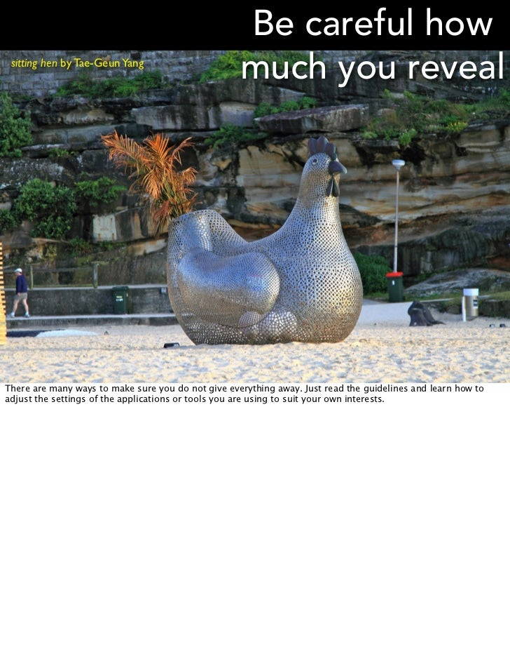 Be careful how sitting hen by Tae-Geun Yang                                                    much you revealThere are ma...