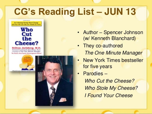 who moved my cheese by spencer johnson pdf download