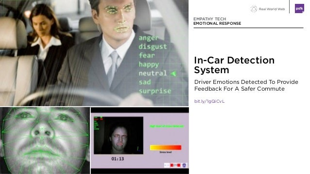 Real World Web Driver Emotions Detected To Provide Feedback For A Safer Commute bit.ly/1gQiCvL EMPATHY TECH EMOTIONAL RESP...