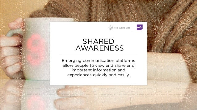 Emerging communication platforms allow people to view and share and important information and experiences quickly and easi...