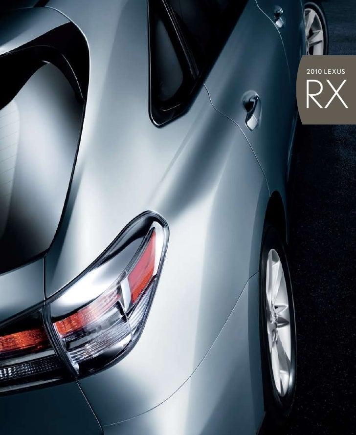 201 0 LEXUS     RX