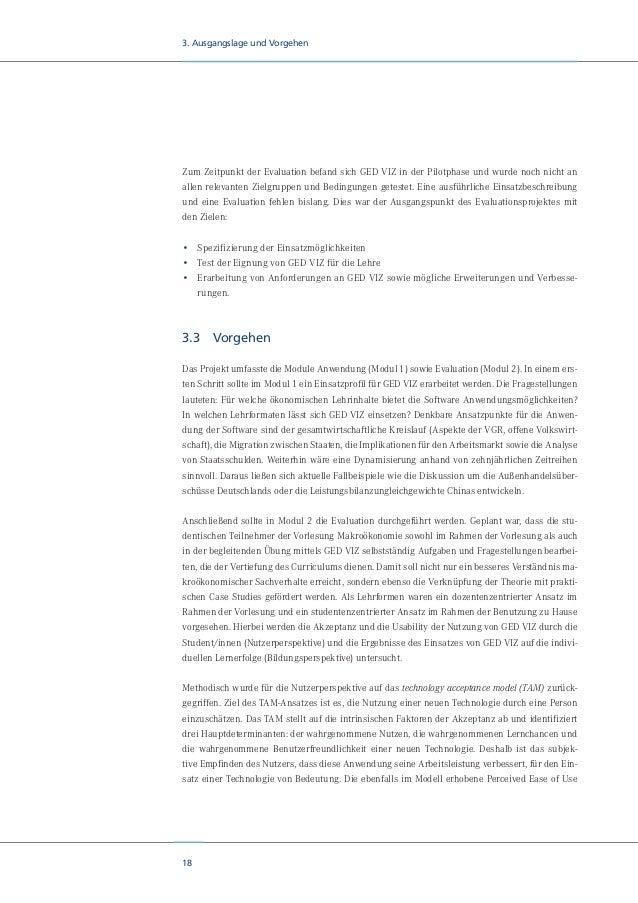20 4. Theoretische Annahmen 4. Theoretische Annahmen Das Ziel von Visualisierung ist es, den Anwender dabei zu unterstütze...