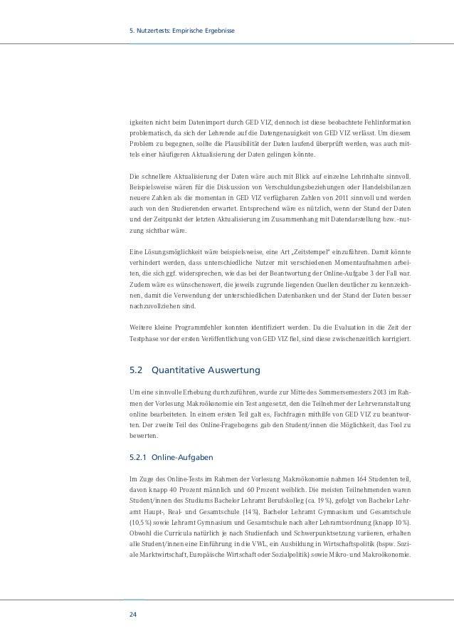 """26 5. Nutzertests: Empirische Ergebnisse Abbildung 11: Sortierfunktion in GED VIZ Die zweite Aufgabe lautete: """"Betrachtet ..."""