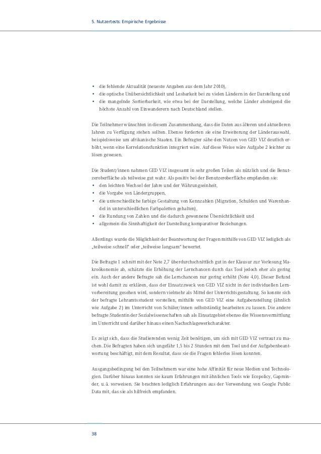 40 6. Diskussion und Ausblick lich liegt hier ein Datenartefakt vor, der auf eine den Autoren unbekannte Spezifik der fran...