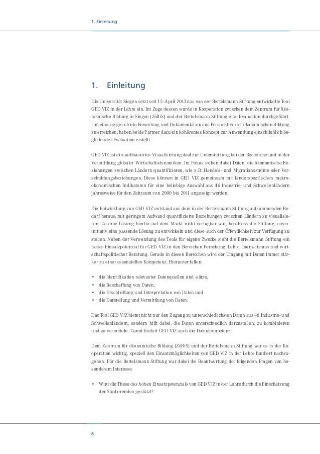 8 2. Über die Kooperationspartner 2. Über die Kooperationspartner Die Bertelsmann Stiftung engagiert sich in der Tradition...