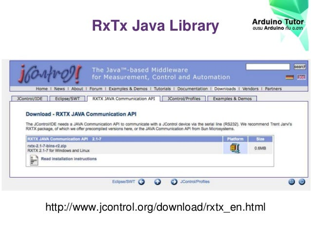 Rxtx Java
