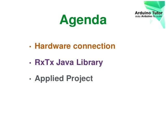 Java RxTx library