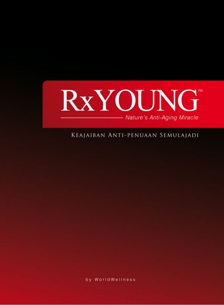 Rx Young produk anti penuaan Worldwellness