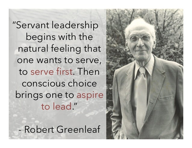 Robert greenleaf essay