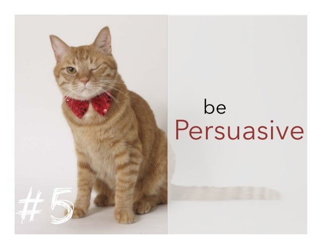 be  Persuasive  #5