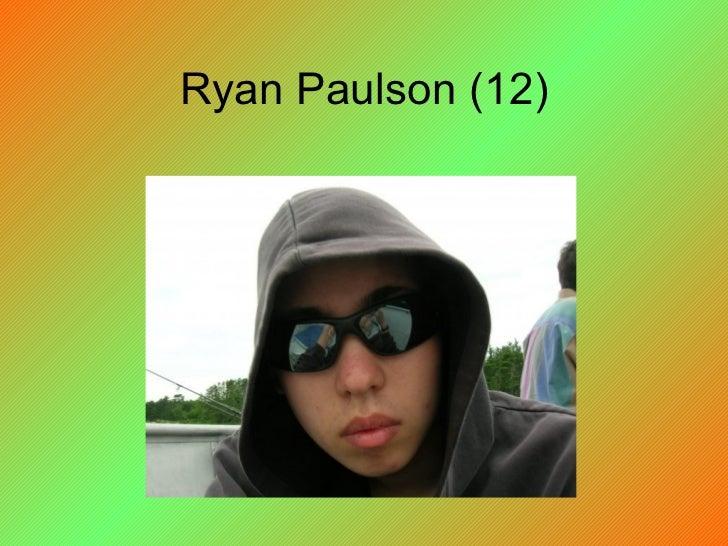 Ryan Paulson (12)