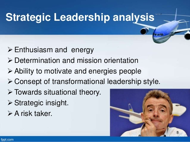 strategic analysis on ryanair Strategic management competitor analysis of ryanair competitor analyisis:  strategy: they are using a low cost strategy, so they compete between  companies.