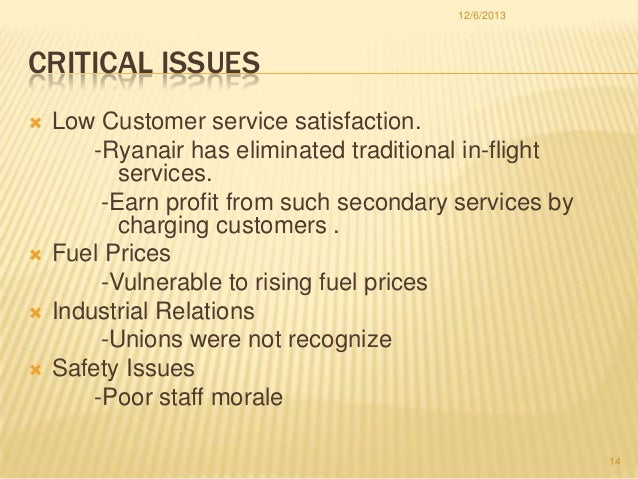 ryanair core competencies and cpabilities A unique ability that a company acquires from its founders or develops and that cannot be easily imitated core competencies are what give a company one or more.