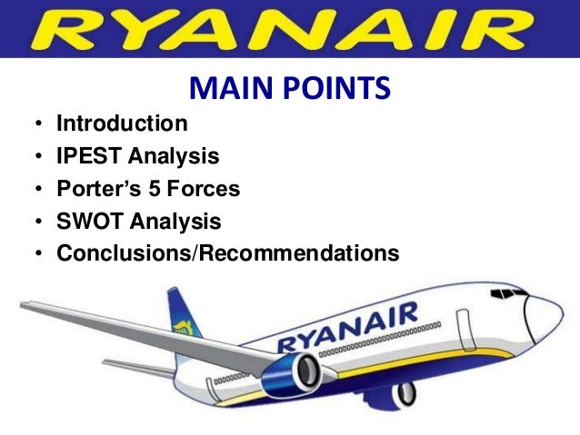 ryanair swot analysis Ryanair holdings plc (ry4c) - financial and strategic swot analysis review provides you an in-depth strategic swot analysis of the company's businesses.