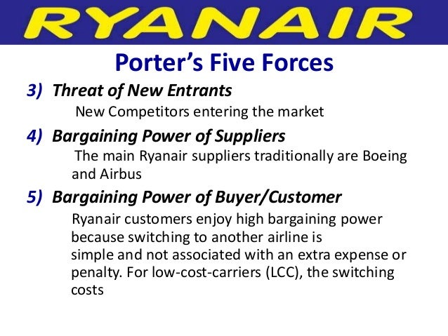 environmental analysis of ryanair Analysis of ryanair profitability of consecutive years has made ryanair to become the most profitable airlines in the world findings and analysis environmental.