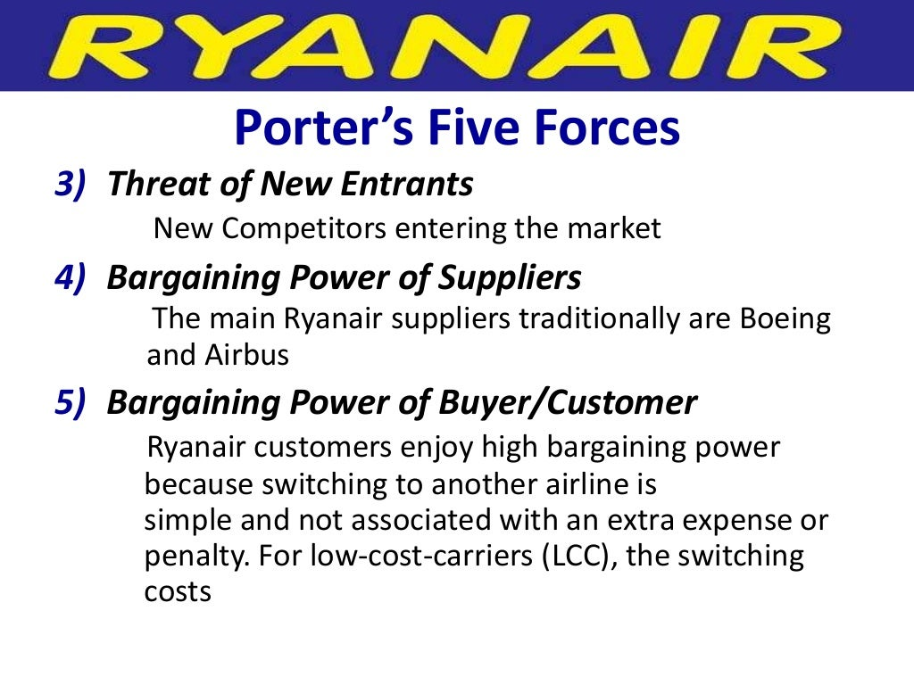 ryanair strategic analysis and recommendations for the future 2012-9-11  suggestions for future research research philosophy  recommendations for ryanair/airline industry  this entry was posted in company profiles & analysis.