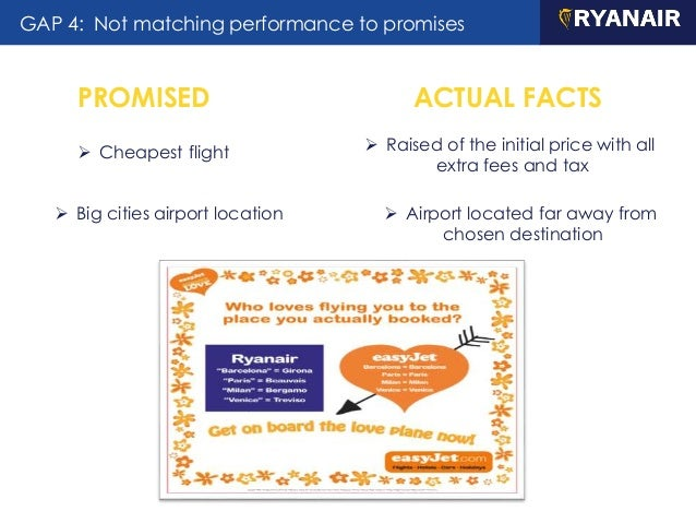 relationship marketing ryanair As profits, revenues and customer numbers all increase, ryanair boss  a  mistake in not focusing on customer service and marketing sooner.